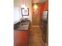 Kitchen with washer/dryer off kitchen