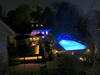 2.9 pool and house night