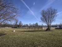 5 Fenced pastures with 2 run-in shelters